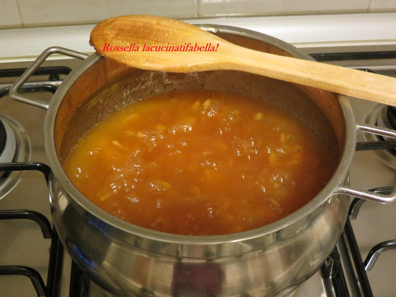 Far Bollire Vasetti Marmellata crostata di anna conte con marmellata e mele per il club del